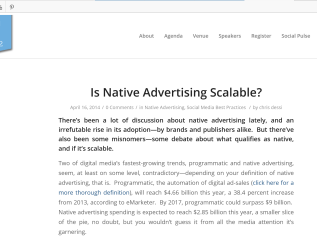 Is native advertising scalable & 6 common social media marketing mistakes, Westchester Digital Summit