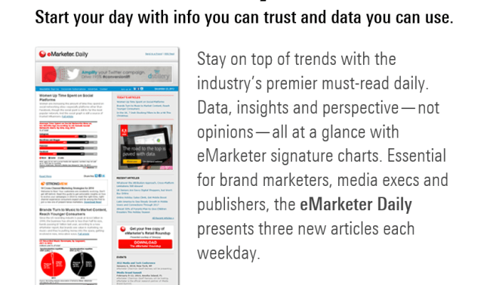 5 Free Newsletters for Content Marketing News