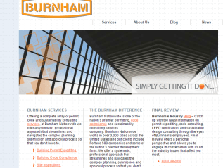 Company blog support, Burnham Nationwide