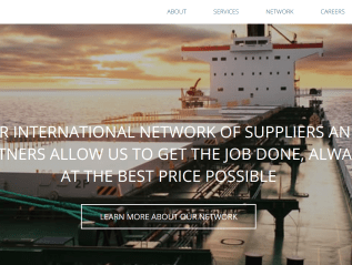 New Website for Global Logistics Providers