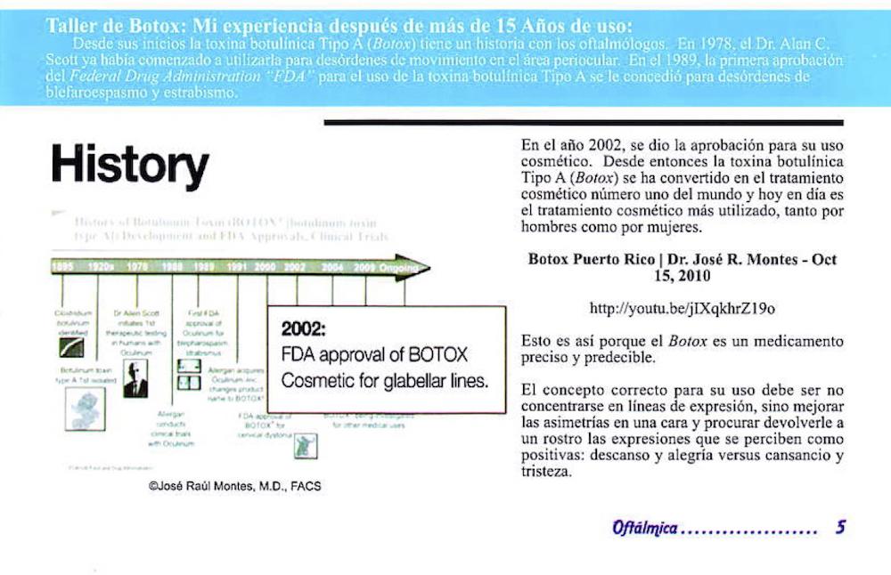 Taller de Botox®- Mi Experiencia Después de Más de 15 Años de Uso 1