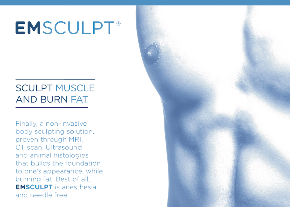emsculpt sculpt muscle and burn fat