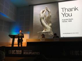 barcelona oculoplastics 2019 conferencias dr montes 8