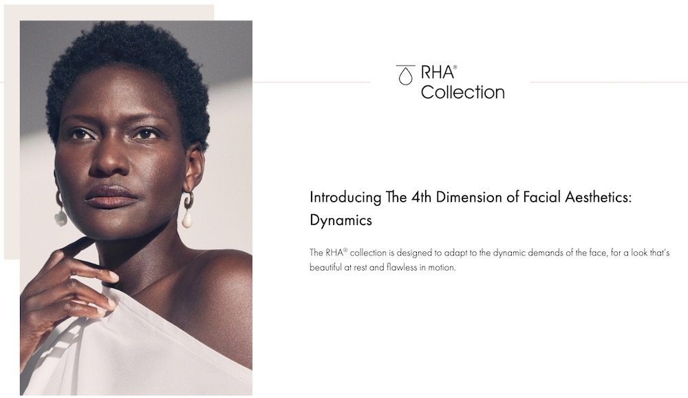 rha 4th Dimension of Facial Aesthetics