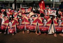 Facebook Takes Down Valuable Page of Myanmar Defense force After 2 Protesters Killed in Police Fire