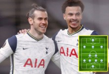 Gareth Bale and Dele Alli originate up alongside Harry Kane and Heung-Min Son, but unruffled no Giovani Lo Celso as Jose Mourinho's Tottenham face Burnley