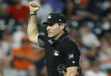 Angel Hernandez makes questionable call, broadcaster proclaims MLB ump in 'midseason produce'