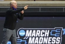 March Insanity First Four 2021: UCLA victory turns into household reunion for Bruins coach Mick Cronin, father