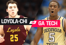 Loyola Chicago or Georgia Tech? Picking Illinois' likely Round 2 opponent in 2021 March Madness bracket