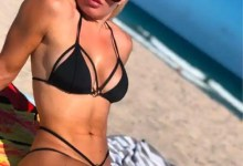 WWE wrestler Mandy Rose blooms in her say to location temperature hovering in throwback bikini pics