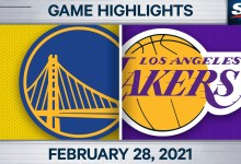 Curry struggles from the sector in loss to Lakers