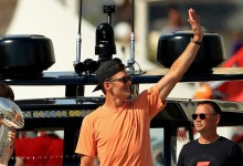 Tom Brady has miniature reminiscence of boat parade, Lombardi trophy toss; admits he used to be a miniature bit hammered