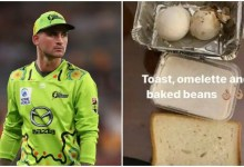 Alex Hales takes a dig at PSL organisers, shares image of shaded-quality food