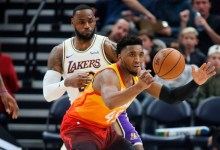 LeBron James says 'no slander' of Jazz after Rudy Gobert, Donovan Mitchell tumble to bottom of All-Huge title Draft