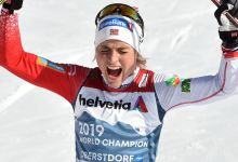 Johaug completes superb World Championships with fourth gold