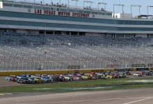 What channel is NASCAR on right this moment? TV time desk, open time for Las Vegas speed