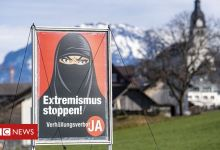 Switzerland referendum: Voters enhance ban on face coverings in public