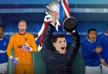 Look: Targets from Rangers' Scottish Premiership title use