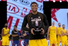 Giannis receives Kobe Bryant MVP Award for Team LeBron at All-Essential person Sport