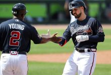 Thumb fracture slows Inciarte's battle with Pache in Braves OF