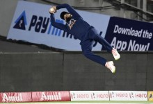 Look: KL Rahul Wows Followers With Sensational Fielding Effort In India vs England 1st T20I