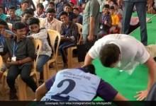 तमिलनाडु दौरे पर स्कूली बच्चों के बीच पुशअप्स करते दिखे राहुल गांधी, देखें VIDEO