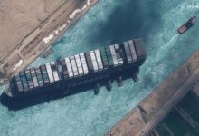 एक पूर्णिमा ने स्वेज नहर से अंततः स्टैक नाव 'एवर गिवेन' को मुक्त करने में मदद की