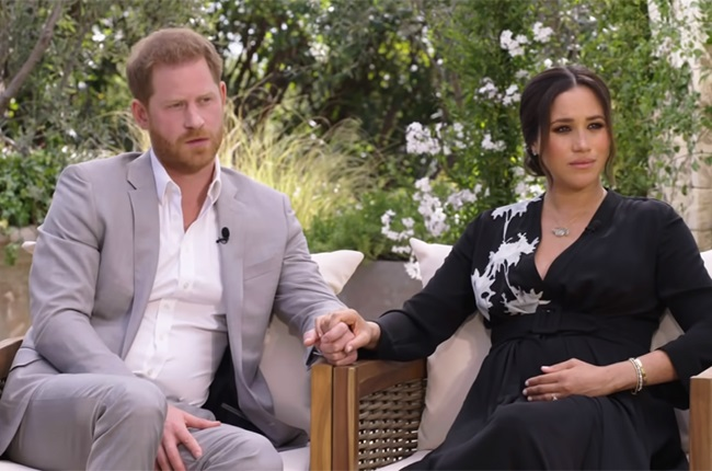 News24.com | Meghan and Harry on racism, suicide and walking away in their bombshell interview with Oprah