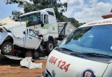 News24.com | Mpumalanga accident between bakkie and truck leaves one dead