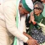 किसान आंदोलन का समर्थन जारी:महात्मा गांधी की पोती गाजीपुर बॉर्डर पहुंचीं, किसानों से कहा