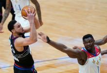 3 observations: Zion Williamson, Pelicans knock off listless Sixers