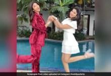 शिल्पा शेट्टी ने बहन शमिता संग पूल किनारे किया मस्ती में डांस, 7 लाख से ज्यादा बार देखा गया Video
