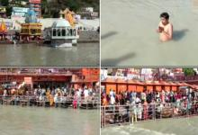 Kumbh Mela devotees gather for last 'Shahi Snan' at Haridwar; flout COVID norms amid surge