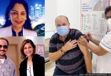 Sonali Bendre, Gulshan Grover take COVID vaccine; Simi Garewal comments on its cost