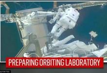 Spacewalking astronauts tackle more solar panel advance work: Read details