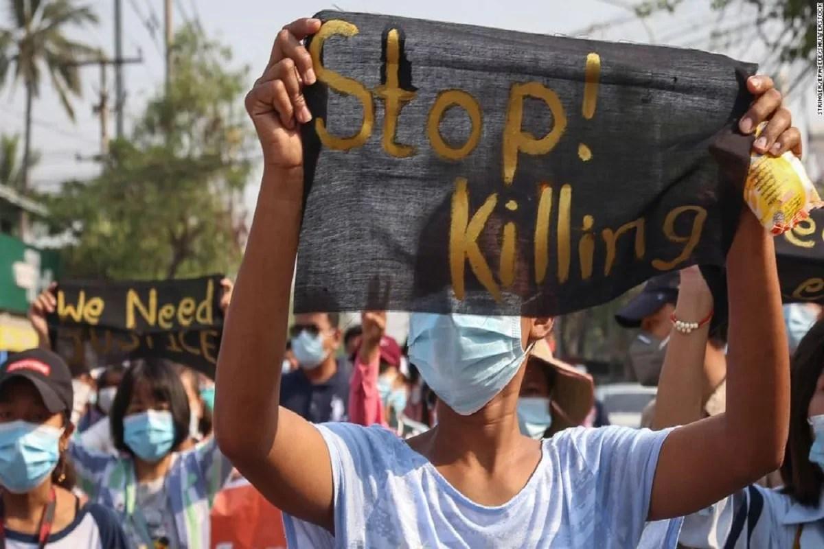 तख्तापलट विरोधी विद्रोहियों ने कहा म्यांमार संघर्ष में छह मारे गए;  यूके, यूएस ने नागरिकों पर हिंसा की निंदा की