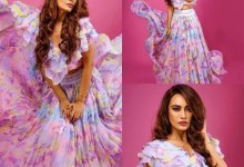 Naagin actress Surbhi Jyoti channels her inner Barbie in this lavender outfit