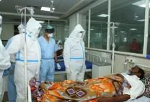 कोटा में पीपीई किट पहनकर कोविड मरीजों के बीच पहुंचे लोकसभा अध्यक्ष