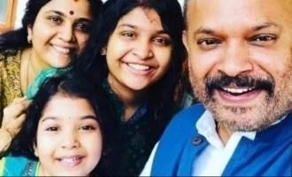 वेंकट प्रभु की बेटी की प्यारी जन्मदिन की तस्वीरें बाहर