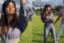Viral! Shweta Tiwari shows off her sexy figure while dancing to 'Paani Paani' with Vishal Aditya Singh