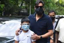 'Can only try and set an example': Ajay Devgn on planting trees with son Yug