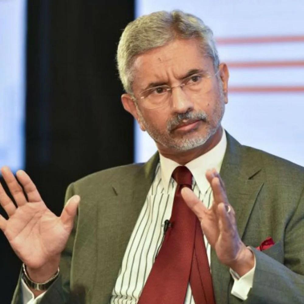 भारत चीन पर विदेश मंत्री: जयशंकर बोल