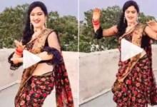 Woman dances on Govinda's song, video of desi thumka goes viral