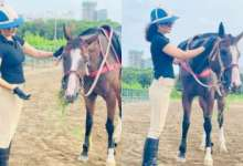 Kangana Ranaut expresses her love for animals in an adorable post while posing with her horse