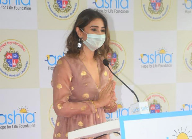 ध्वनि भानुशाली ने अन्य गणमान्य व्यक्तियों के साथ मुंबई में एक फ्री-ऑफ-कास्ट 140-बेड कोविड देखभाल अलगाव केंद्र का उद्घाटन किया