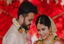 सा रे गा मा पा केरलम के कीर्तना एसके ने सूरज सत्यन के साथ शादी की;  खूबसूरत शादी की तस्वीरें देखें