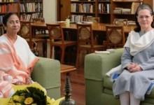 Congress-TMC bonhomie on display ahead of Mamata's likely meeting with Sonia Gandhi