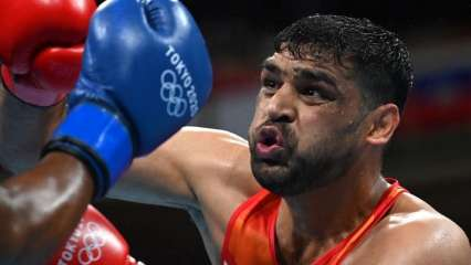 Tokyo Olympics: Plucky Satish Kumar gives his all but bows out after losing in quarter-final