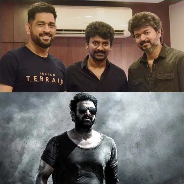Trending South News Today: Videos of Prabhas' Salaar leaked, Thalapathy Vijay meets Thala MS Dhoni and more