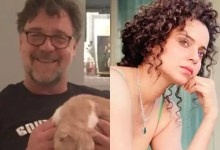 Whoa! Russell Crowe and Kangana Ranaut in a film together? Check out Gladiator fame Hollywood actor's reaction to a fan's wish